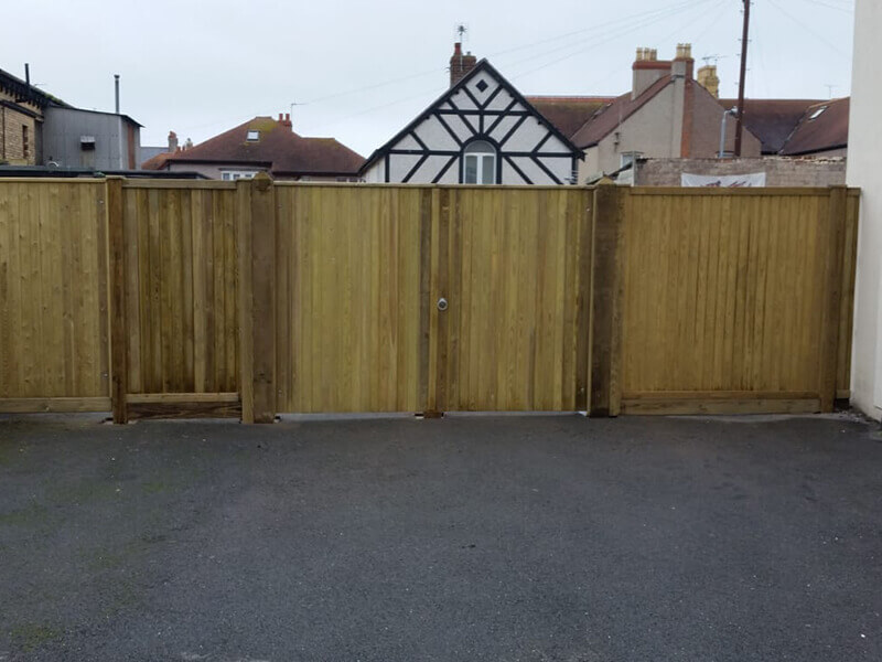 Tongue and groove gate and panels