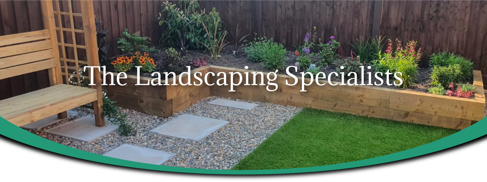 Garden design and landscaping in Wrexham