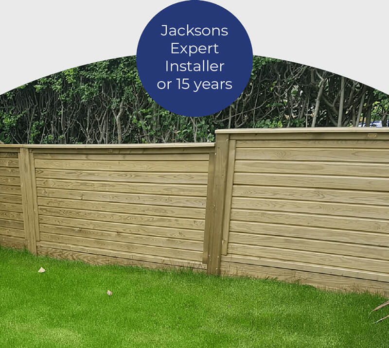 Jacksons Fencing Installer for over 15 years