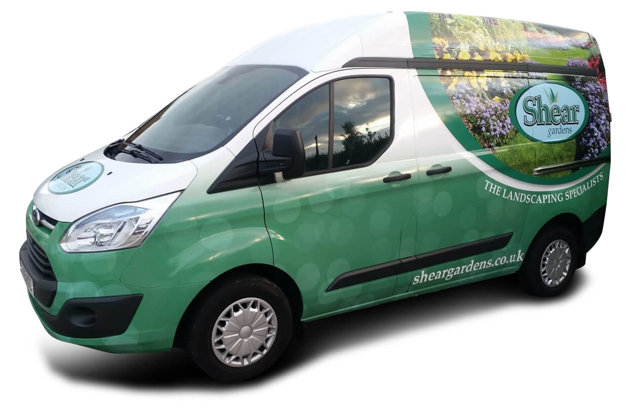 Shear Gardens Landscaping Limited Van